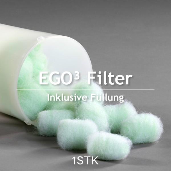 Filter EGO³ - inkl. Füllung